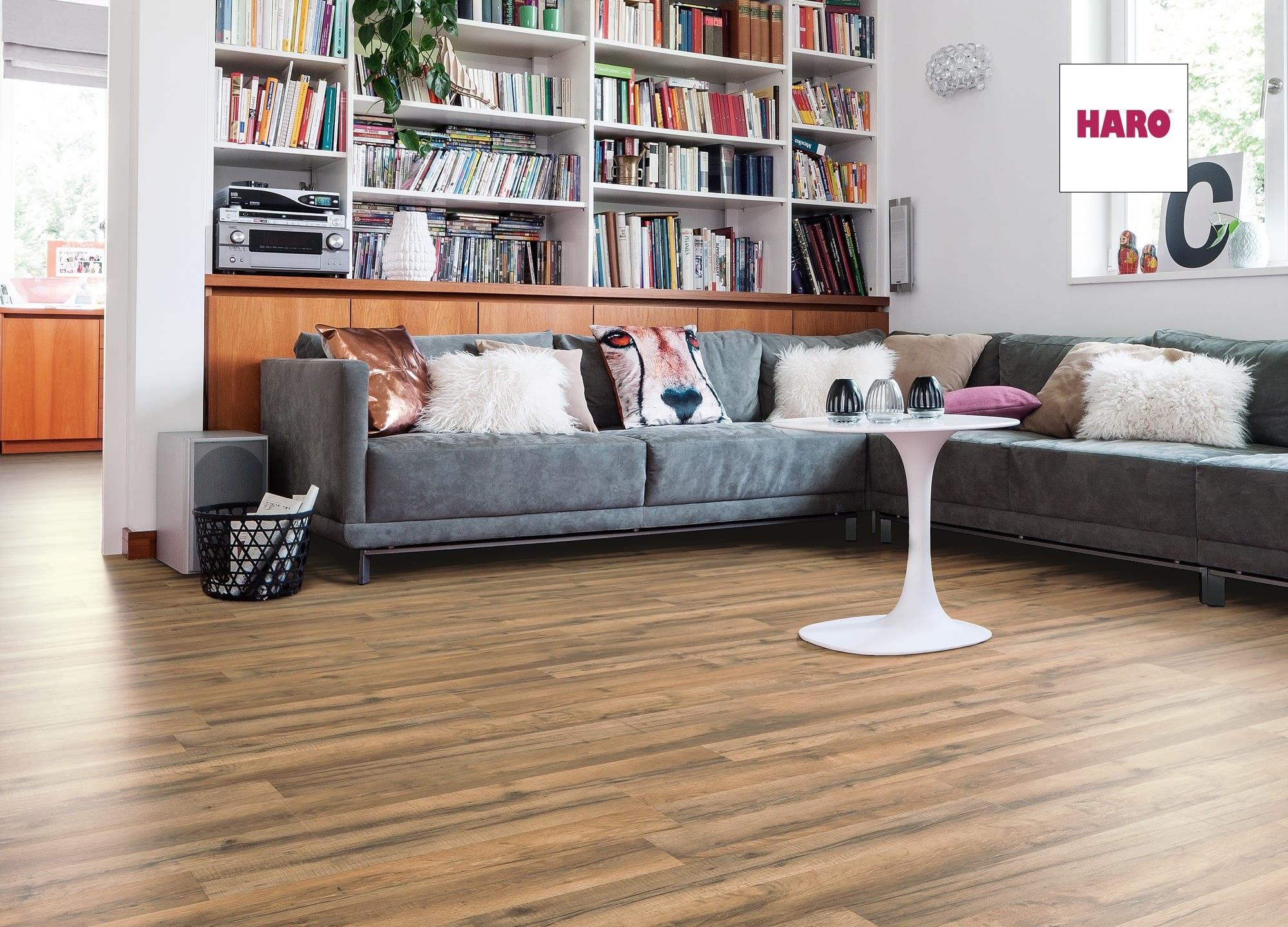 Dřevěné podlahy HARO